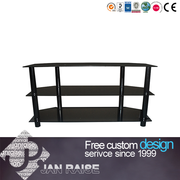 how to raise tv stand